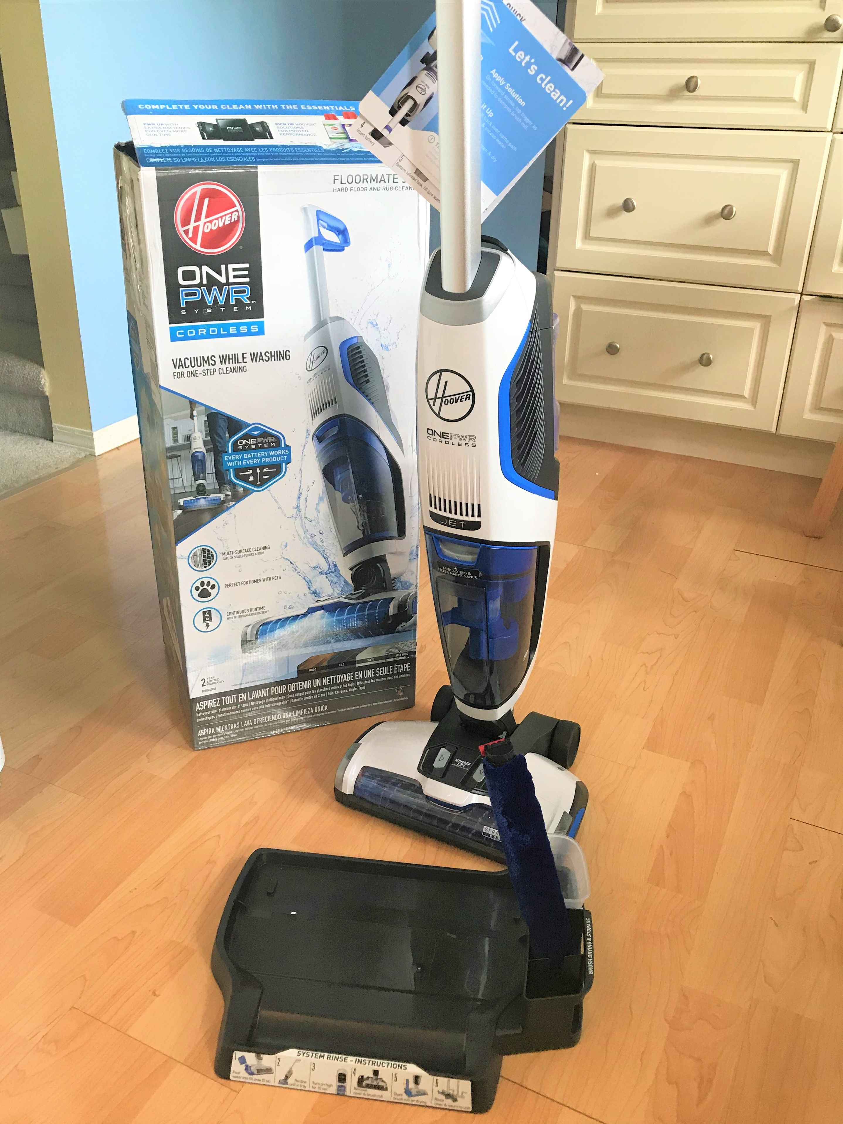 Hoover onepwr floormate jet giveaway mommys weird