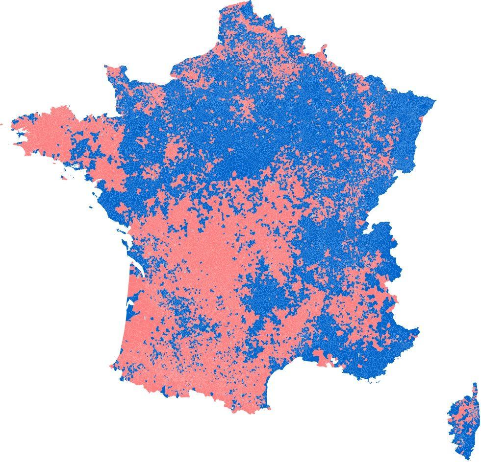 Carte Des Resultats De L Election Presidentielle 2012 Elections