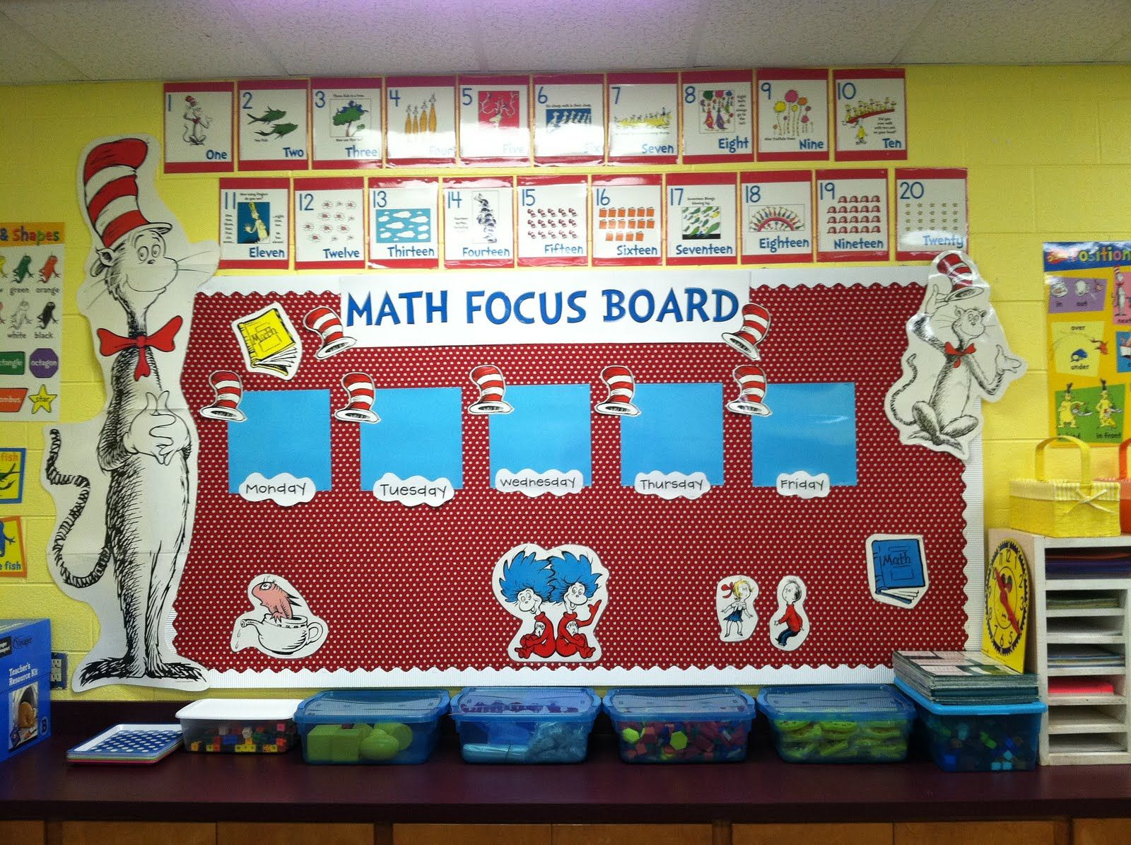 Math Focus Wall Love The Decorations Fits My Room Well