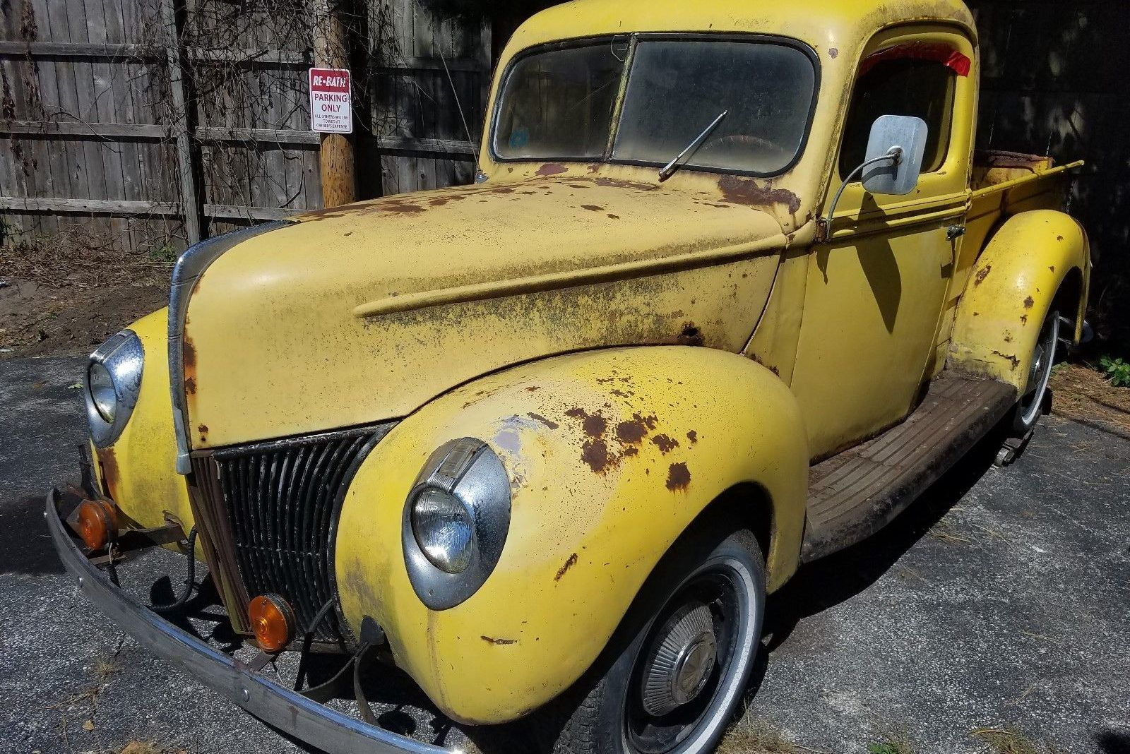 One Owner Barn Find - 1940 Ford Pickup #BarnFinds #Ford - http ...