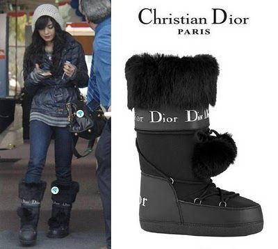 b3077232 Christian Dior Snow Boots | Snow Time | Stylish winter boots, Dior ...