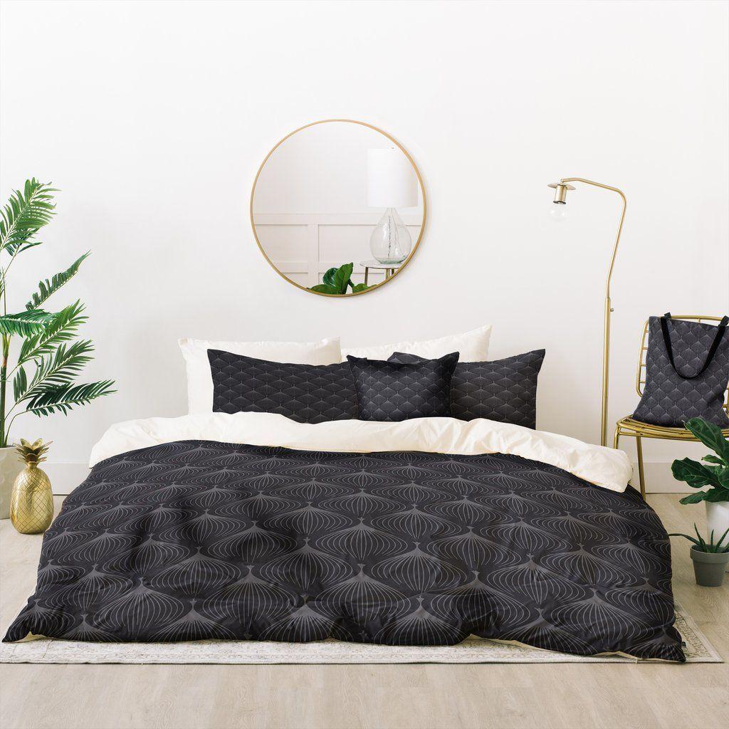 Caroline Okun Hygge In Kohl Bed A Bag Deny Designs