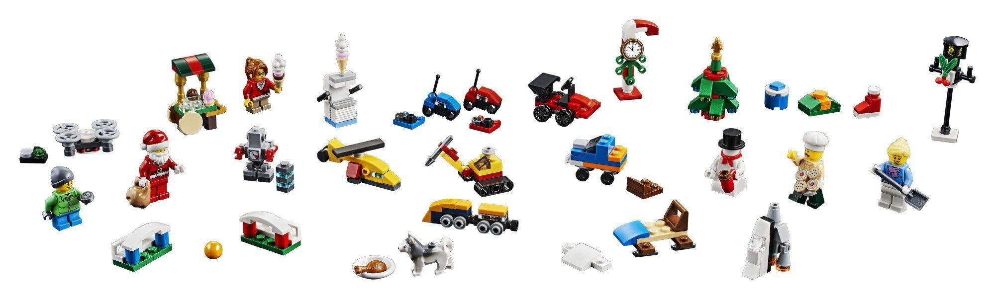 Lego City Advent Calendar 60201 New 2018 Edition Minifigures Small