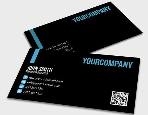 Card design decent business card template free premium card design decent business card template colourmoves