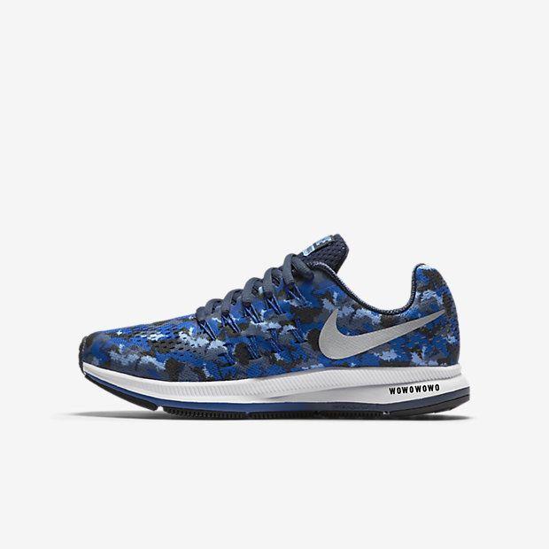 Nike Air Zoom Pegasus 33 Print Big Kids' Running Shoe