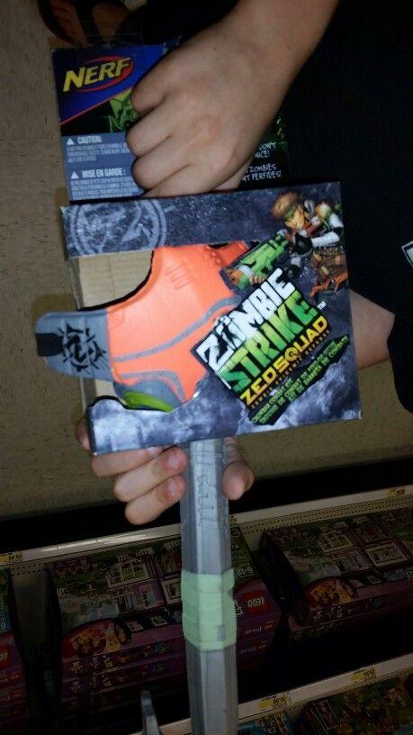 Nerf Zombie Strike Crowbar Combat Kit From Target Nerf Nerf