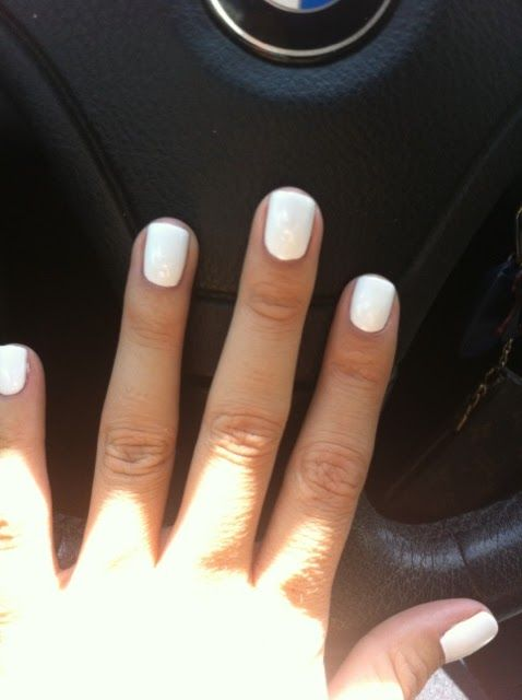 Shellac Studio White Nail Polish