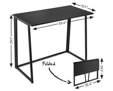 Easy Home Folding Writing Computer Desk Home Selling Furniture
