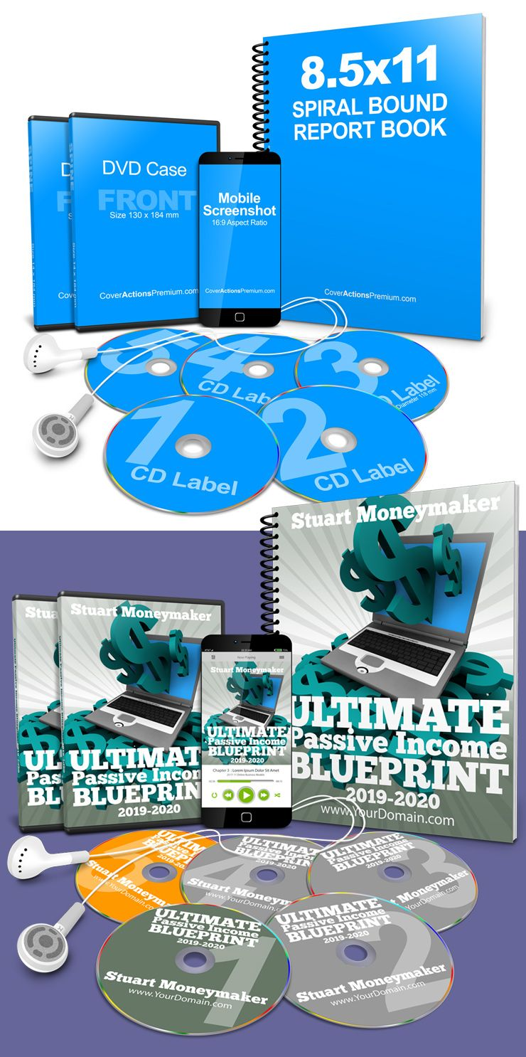 Online Course Mockup Cover Actions Premium Mockup Psd Template Online Courses Online Training Courses