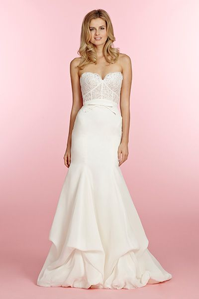 Gown By Blush Hayley Paige Check Out More Gorgeous Dresses In Our Wedding Gallery