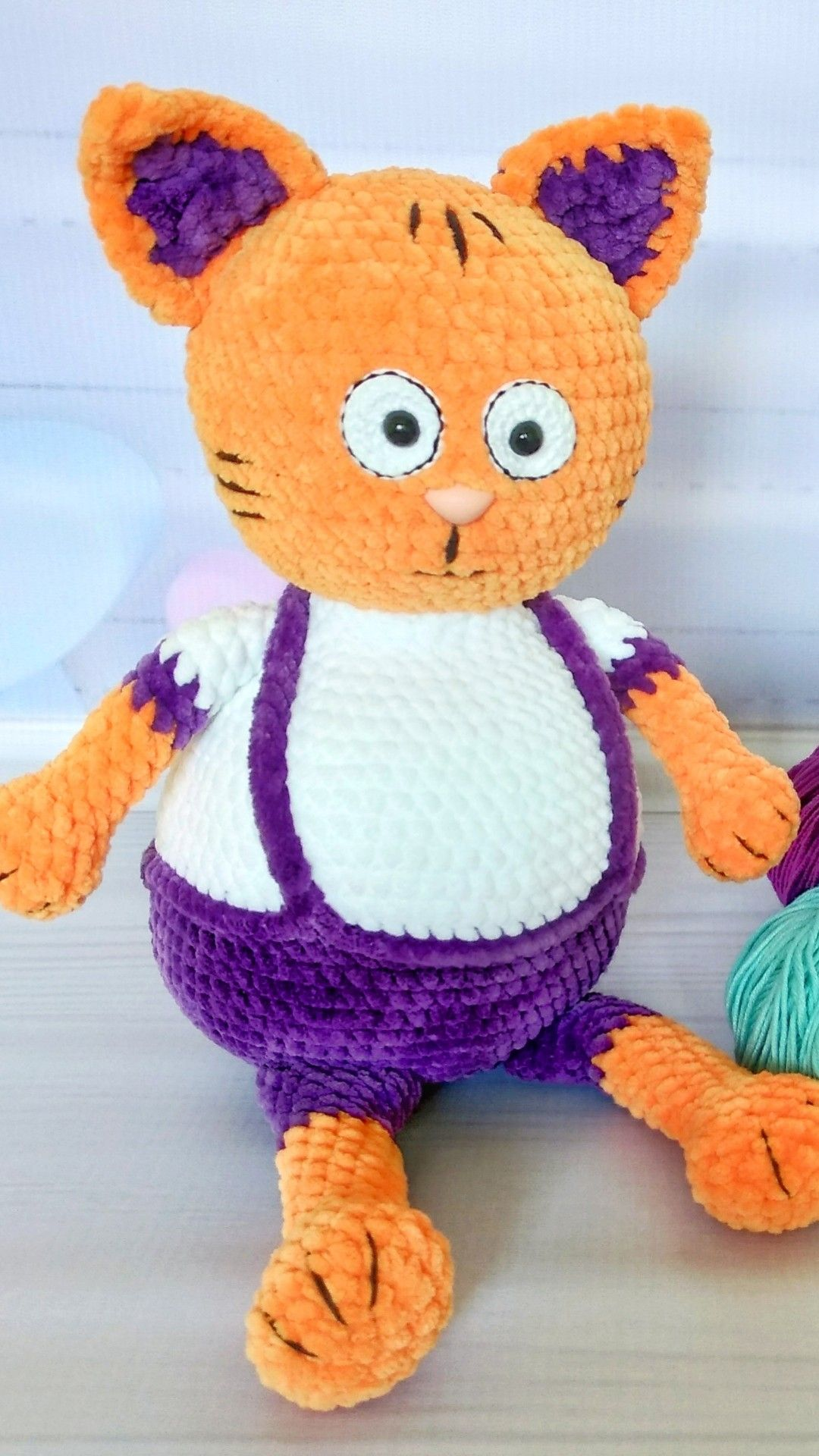 This listing is for Cute Amigurumi Cat toy. Great gift for