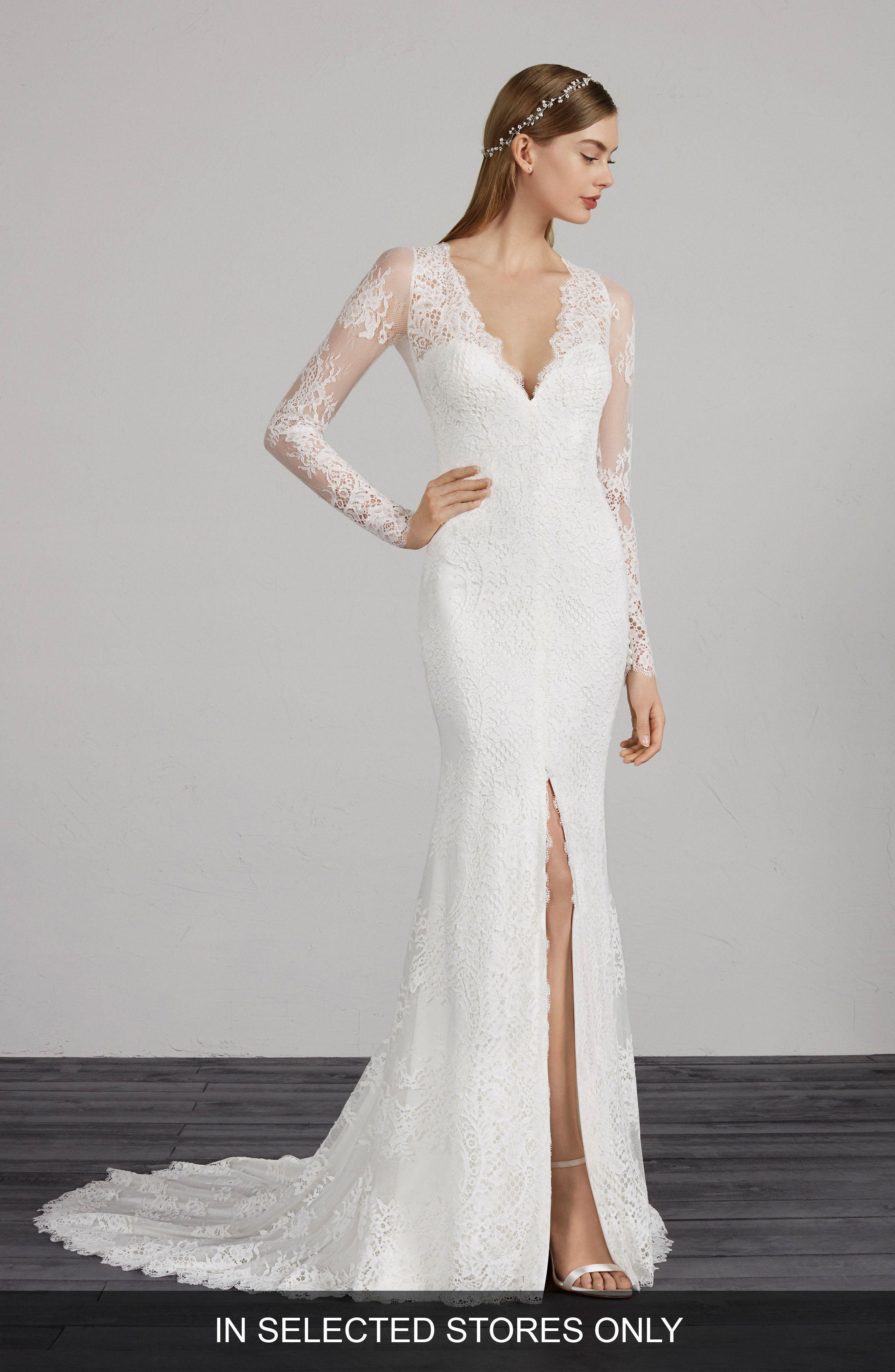 long sleeve wedding dresses nordstrom off 18   medpharmres.com