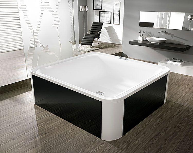 Vasca Da Appoggio : Vasca da bagno quadrata: 20 modelli da appoggio e da incasso casa