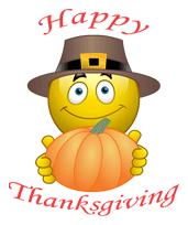 Happy Thanksgiving Emoticon Happy Thanksgiving Pictures Happy Thanksgiving Images Happy Thanksgiving Quotes