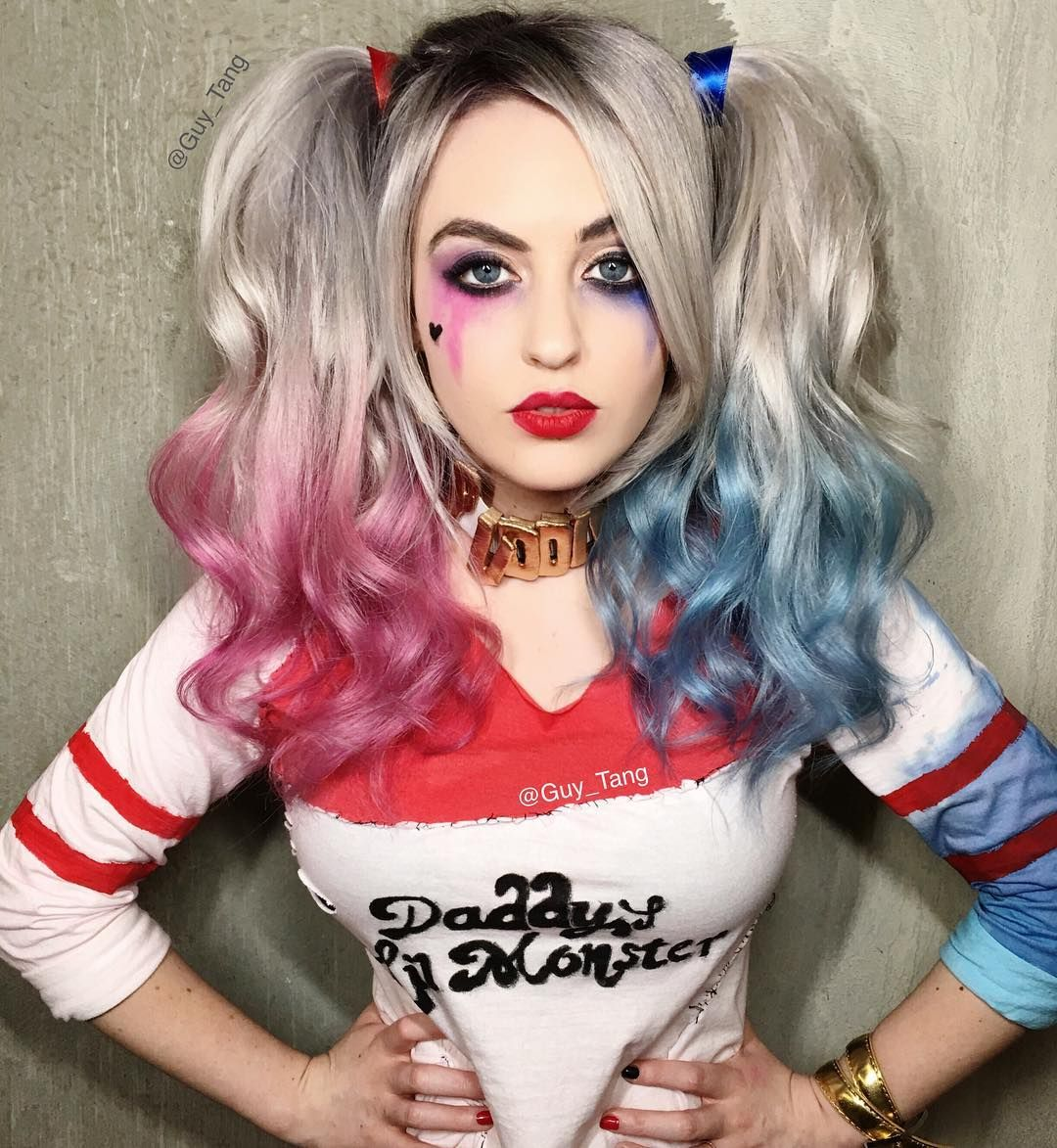 Harley Quinn Suicide Squad by Guy Tang | Halloween fun | Pinterest ...