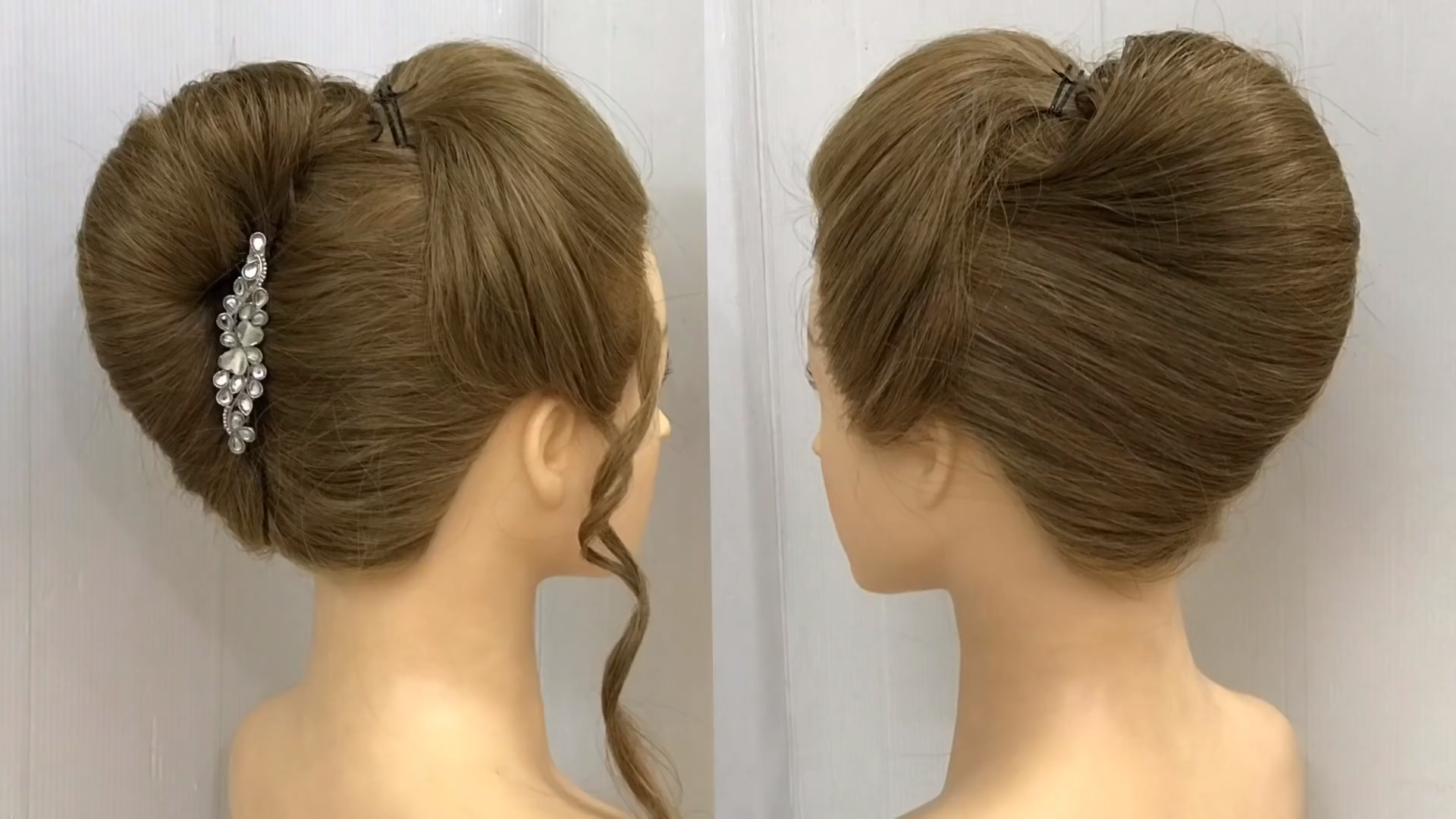 French Bun Hairstyle With Trick How To Make French Roll Hairstyle French Twist Hairstyle Trick Easy Way T French Roll Hairstyle Bun Hairstyles Roll Hairstyle
