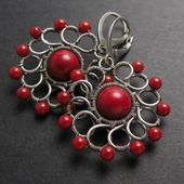 Ähnliche Artikel wie Tutorial V – wire wrapped earrings , wire wrap jewelry , j…
