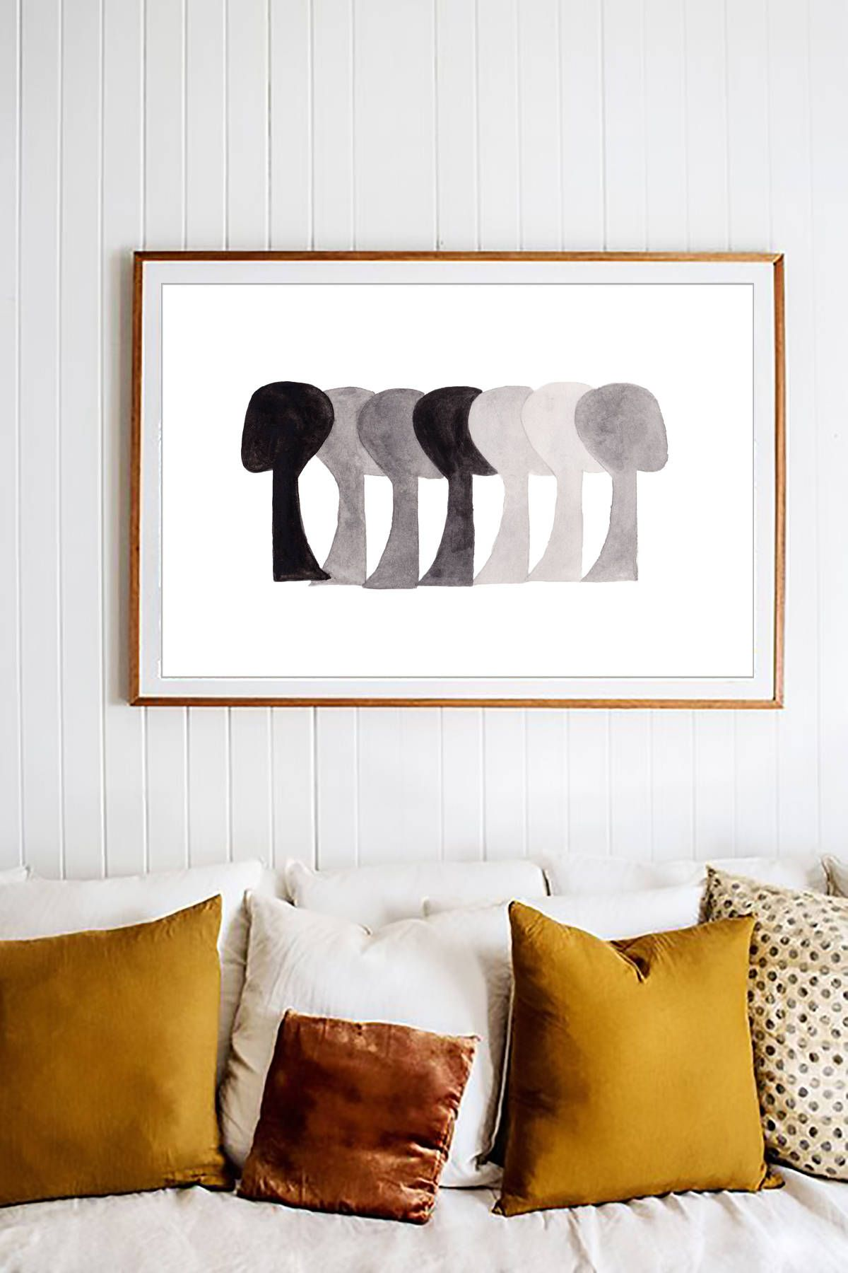 Abstract art black white prints black white wall art art modern