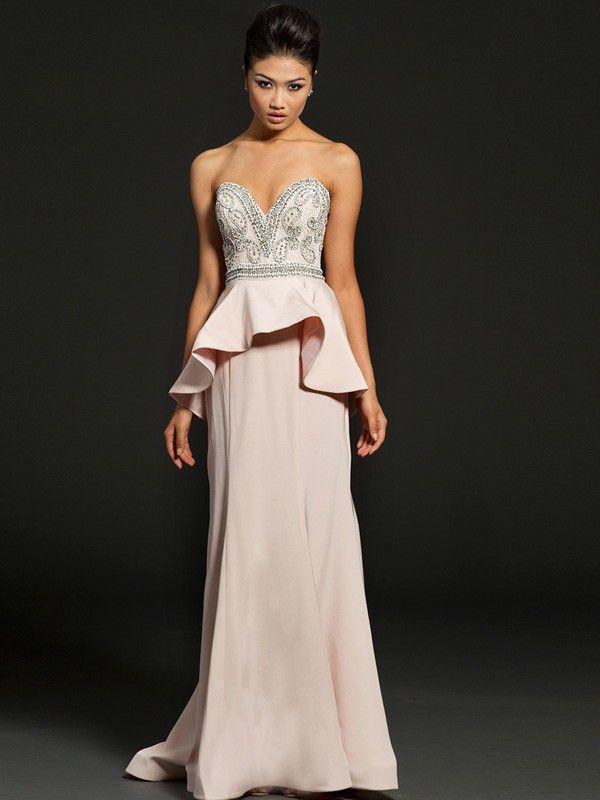 Sheath/Column Sweetheart Rhinestone Prom Dresses/Evening Dresses GX532 $239.99 2015 Prom Season