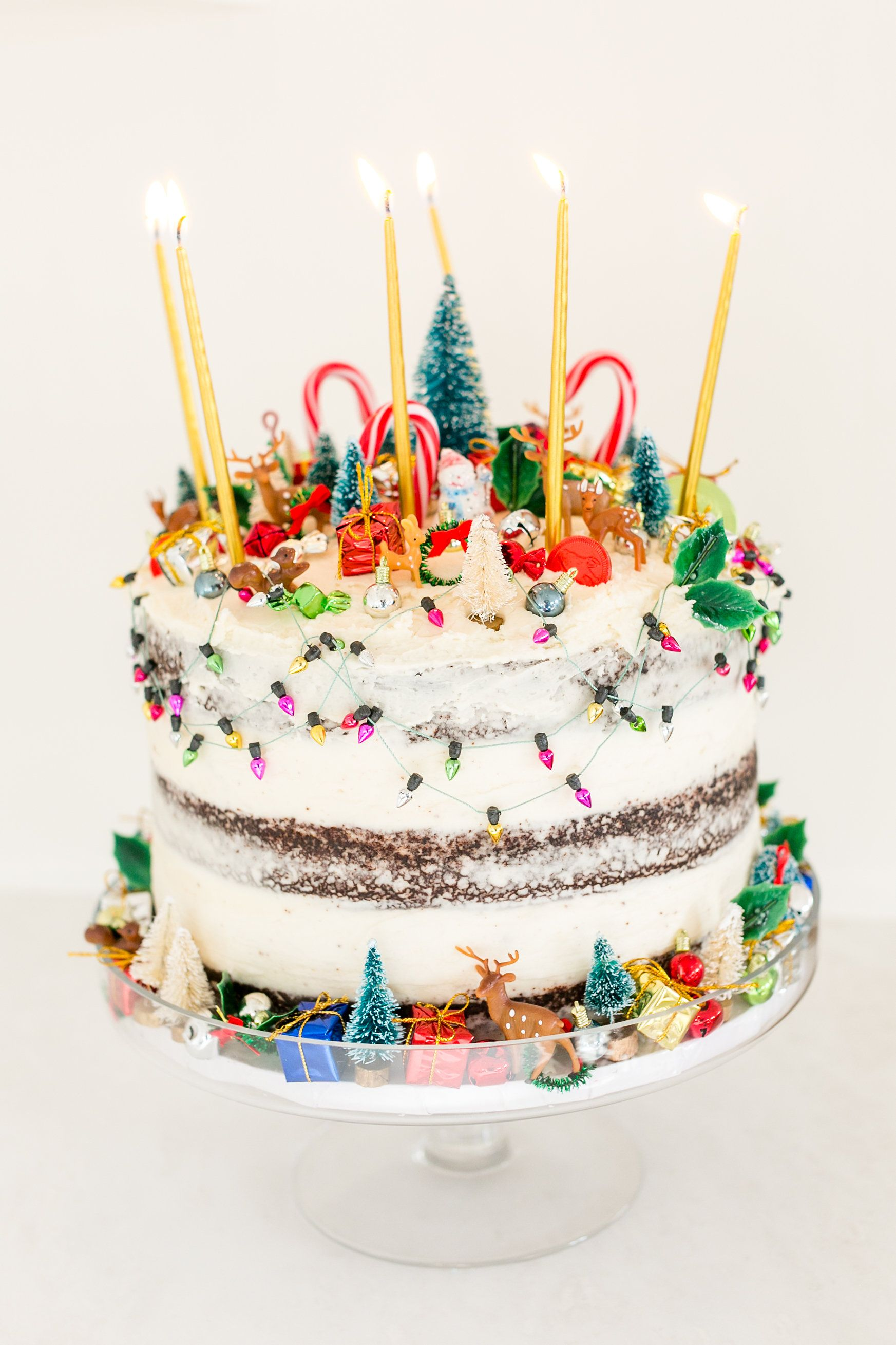 Edible Obsession Holiday Cake Decorating Ideas