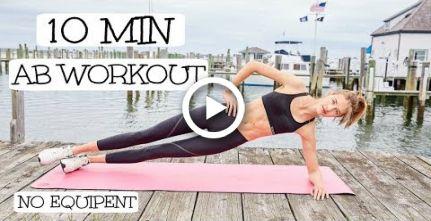 10 Minute Model Ab Routine | Model Workouts | Sanne Vloet #fitness