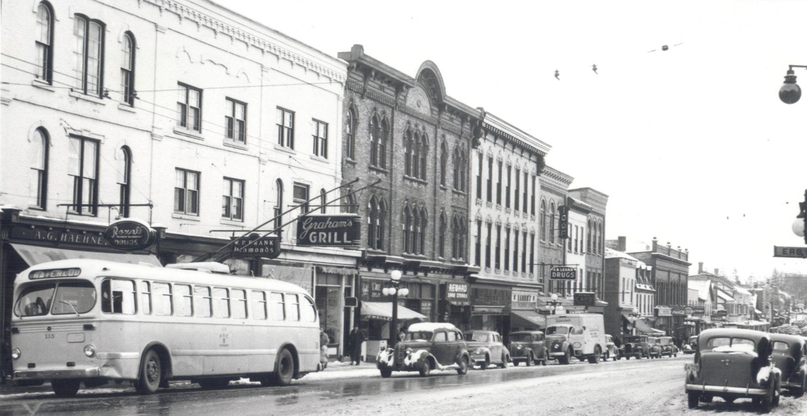 The old B.F. Goodrich tire plant, on the corner of King Street and ...