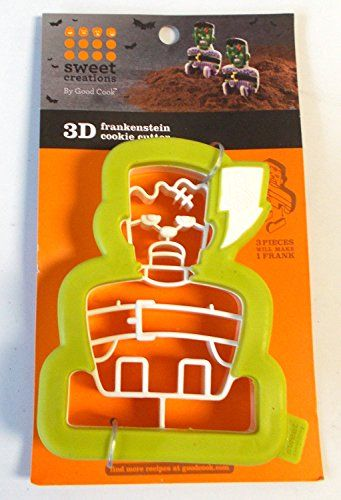 1 X Frankenstein 3D Halloween Cookie Cutter >>> Read more at the image link.