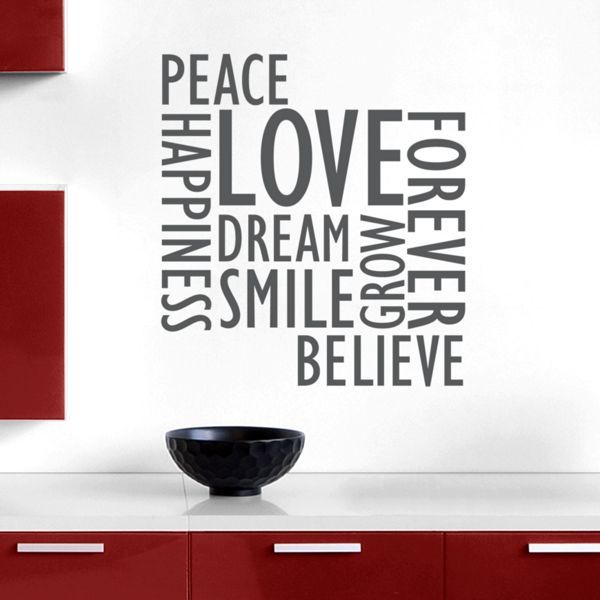 Inspirational Wall Words Wall Decals Stickers Graphics Inspirational Wall Decals Wall Stickers Words Wall Decals