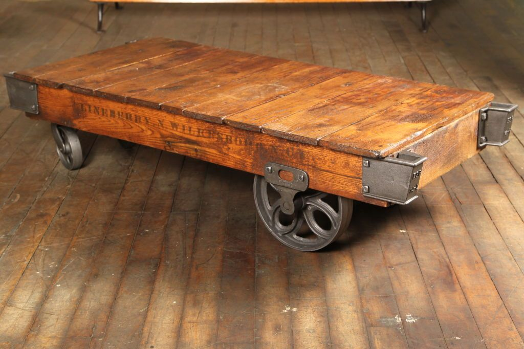 cart coffee table. home decorators collection holden distressed