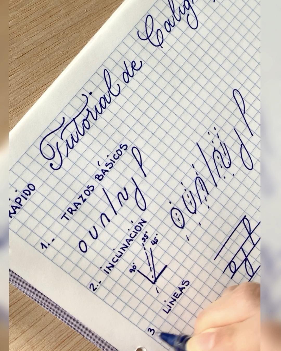 Rapido Tutorial De Caligrafia Video Tutorial De Caligrafia Tipos De Letras Abecedario Letras Del Alfabeto Para Impresion