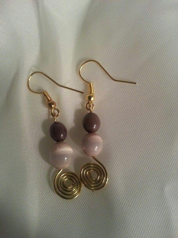Handmade wire earrings | Custom creations | Pinterest | Handmade ...