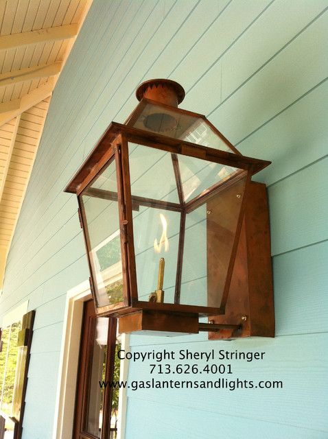 Front Door Gas Lanterns Traditional Houston By Sheryl Stringer Gas Lanterns Exterior Light Fixtures Gas Lights