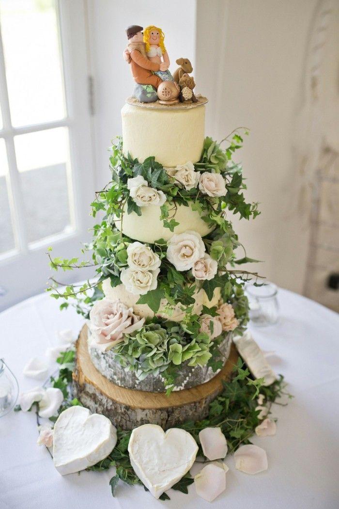 Ausgefallene Hochzeitstorten Alles Andere Nur Nicht Suss