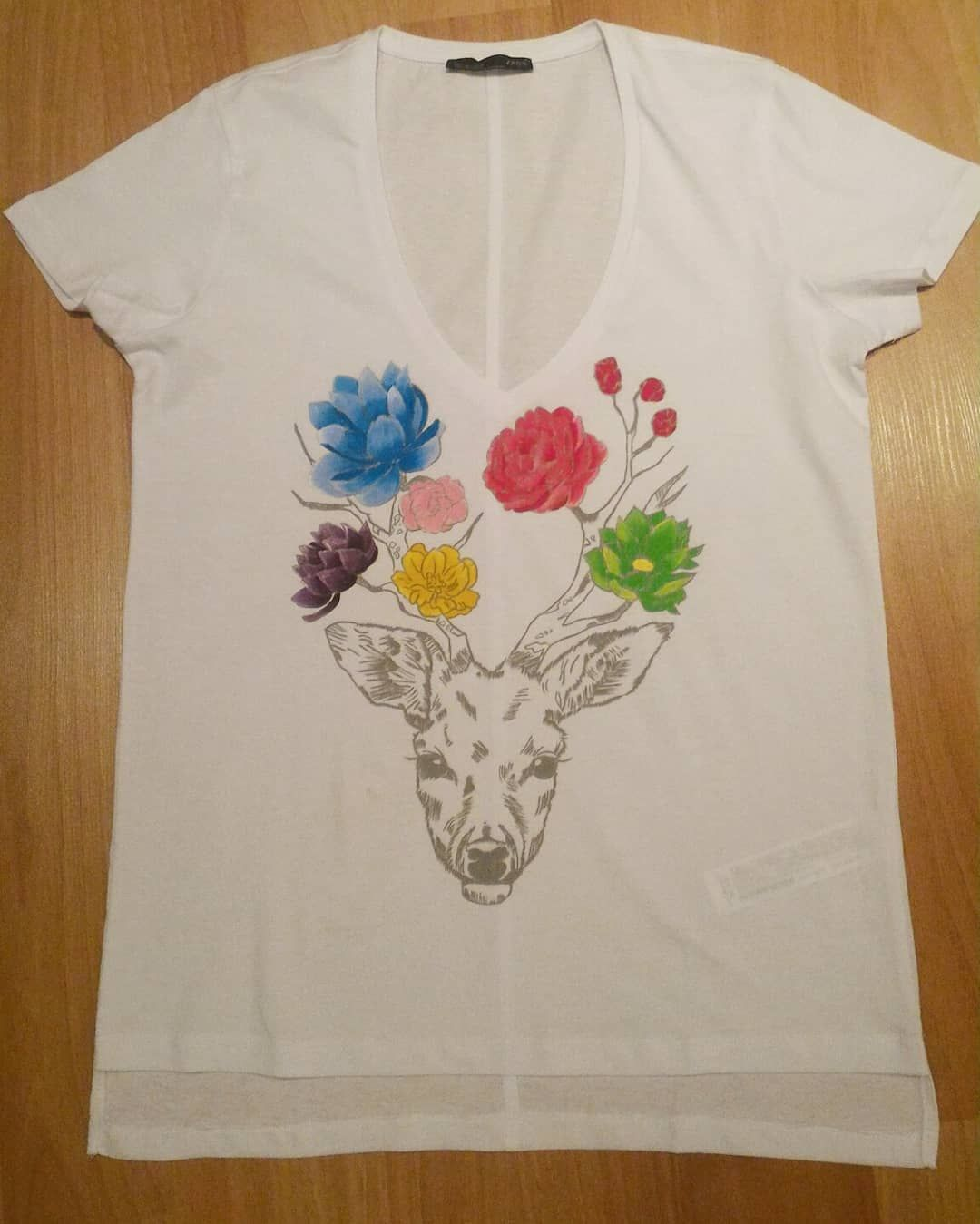 Bahardan Mı Acaba Içim Kıpır Kıpır Kişiye özel Tişört Boyama