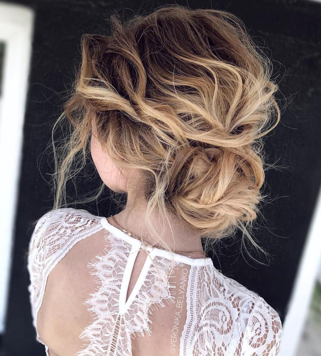 I can never get enough of the UNDONE TEXTURED UPDO beautifully