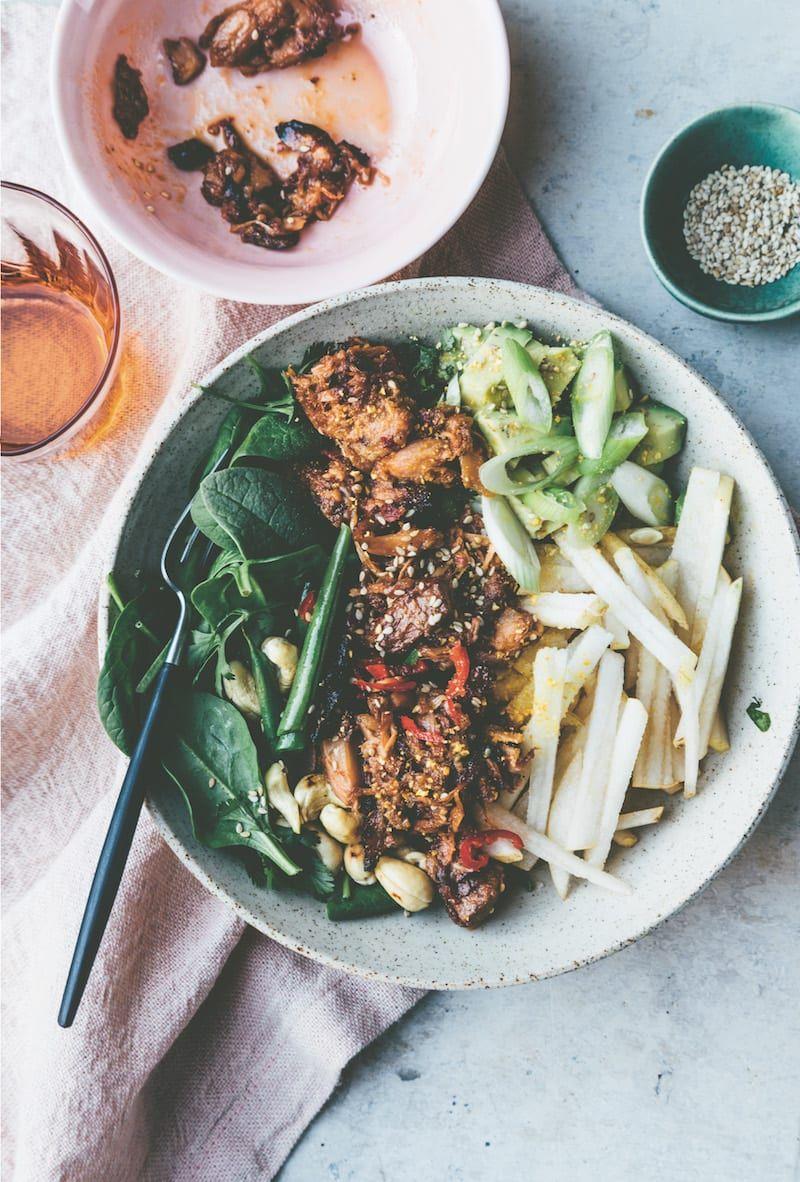Tips For Cooking A Vegetarian Dinner Party Recipe Bulgogi Jackfruit Recipes Jackfruit