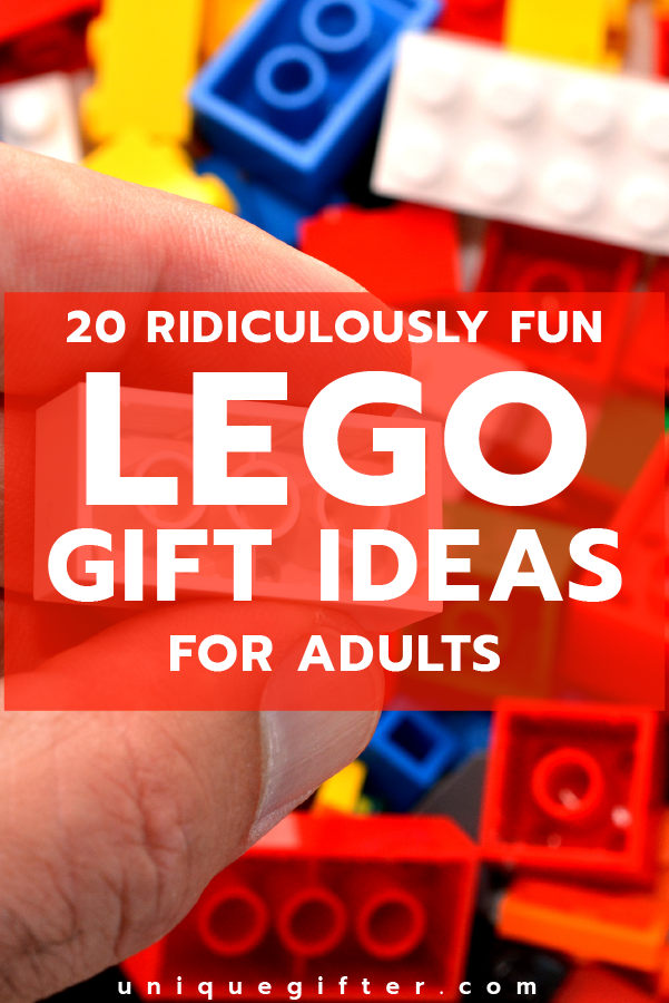 20 Ridiculously Fun Lego Gifts for Adults | Anniversary gifts ...