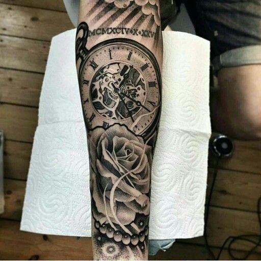 Brujula Watch Tattoos Tattoo Designs Men Pocket Watch Tattoos