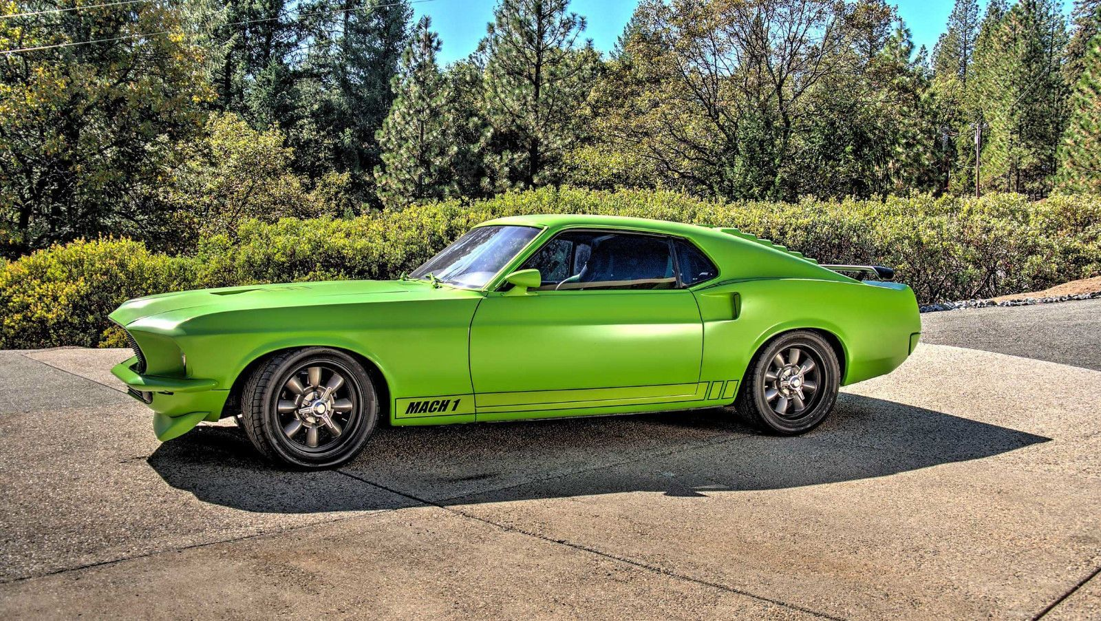 Image Of 1969 Ford Mustang Mach 1 Production Numbers Gulfstream Aqua 134184 Rk Motors Classic And Performance Cars