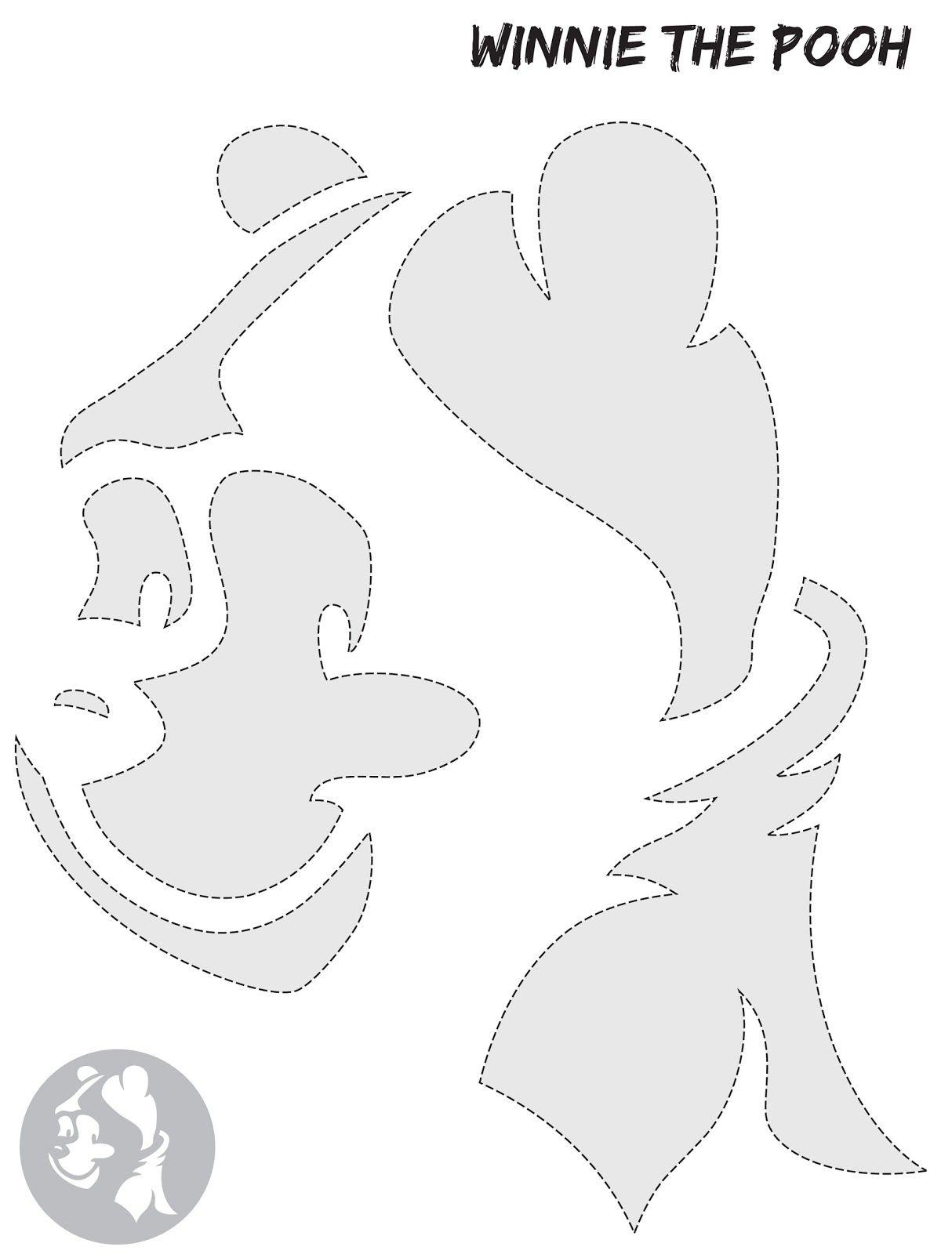 Winnie The Pooh Pumpkin Stencil | CRAFTS | Pinterest | Stenciling ...