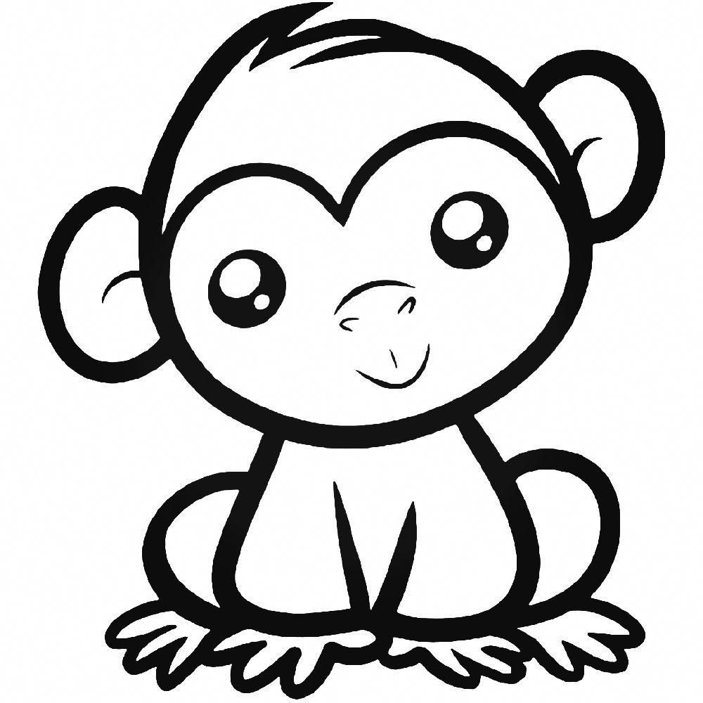 Read More About Cute Easy Tattoos It Is Vital That You Simply Fully Understand Every Facet Of T Monkey Coloring Pages Easy Animal Drawings Monkey Drawing Cute