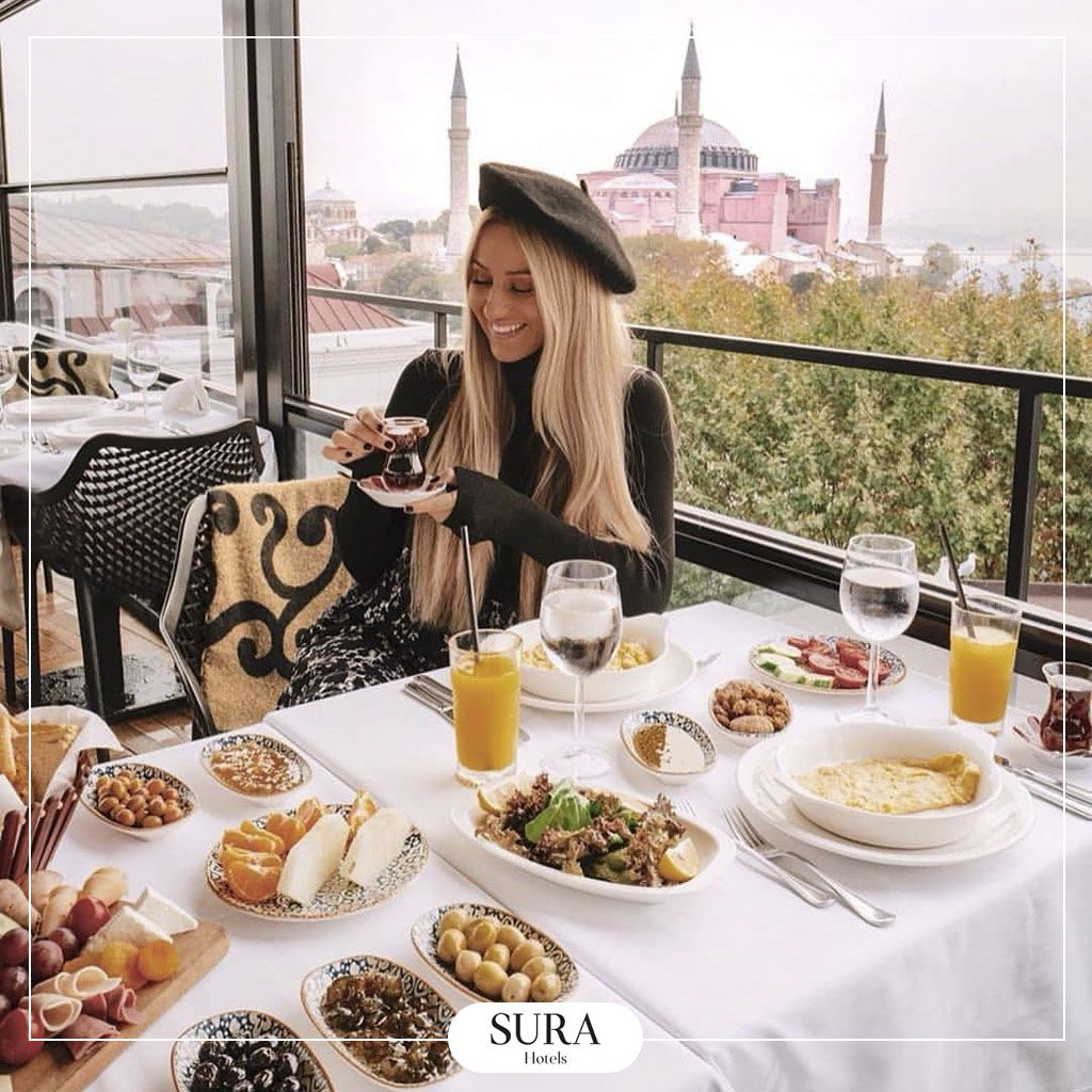 Breakfast With An Amazing View Yummy Breakfast Istanbul Stylish Flooring