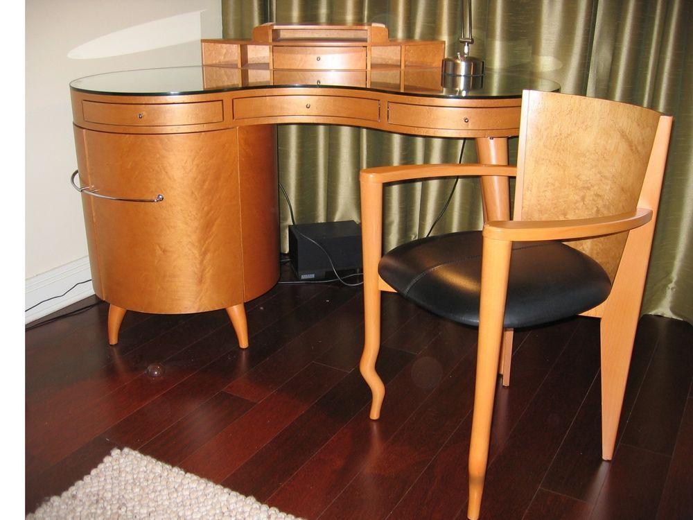 Maurice Villency Art Deco Desk With