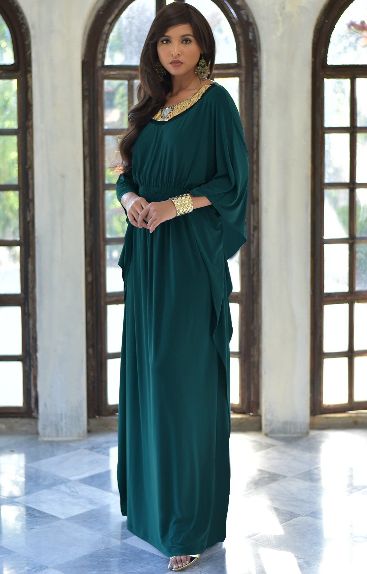 Morocan Party Dress for Pregnant