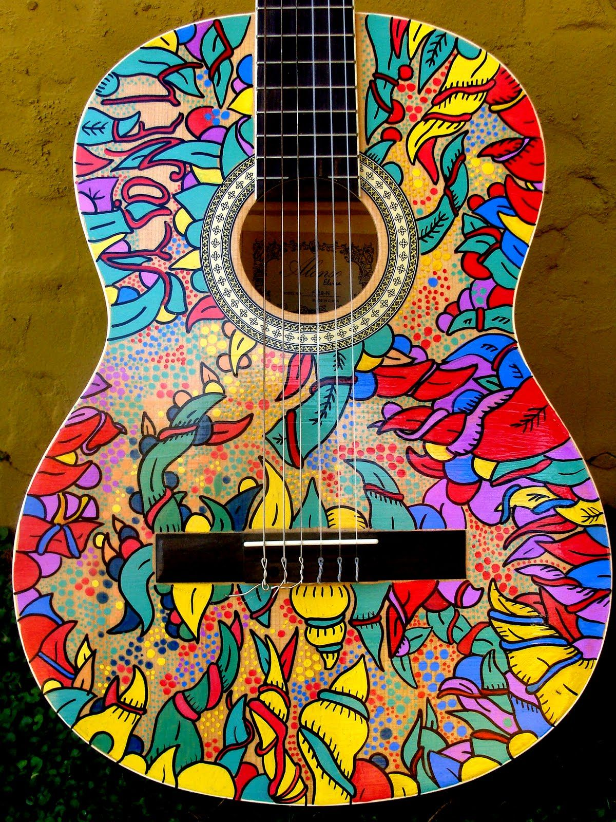 Guitarras Decoradas Pin De Atreyu En Cosas Varias Pinterest Guitar