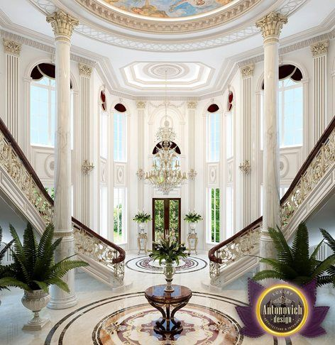 The interior design in classic style by Katrina Antonovich becomes a