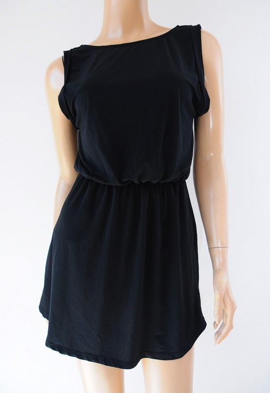 e226fced9e Sukienka czarna mini r. 34 H M - Vinted