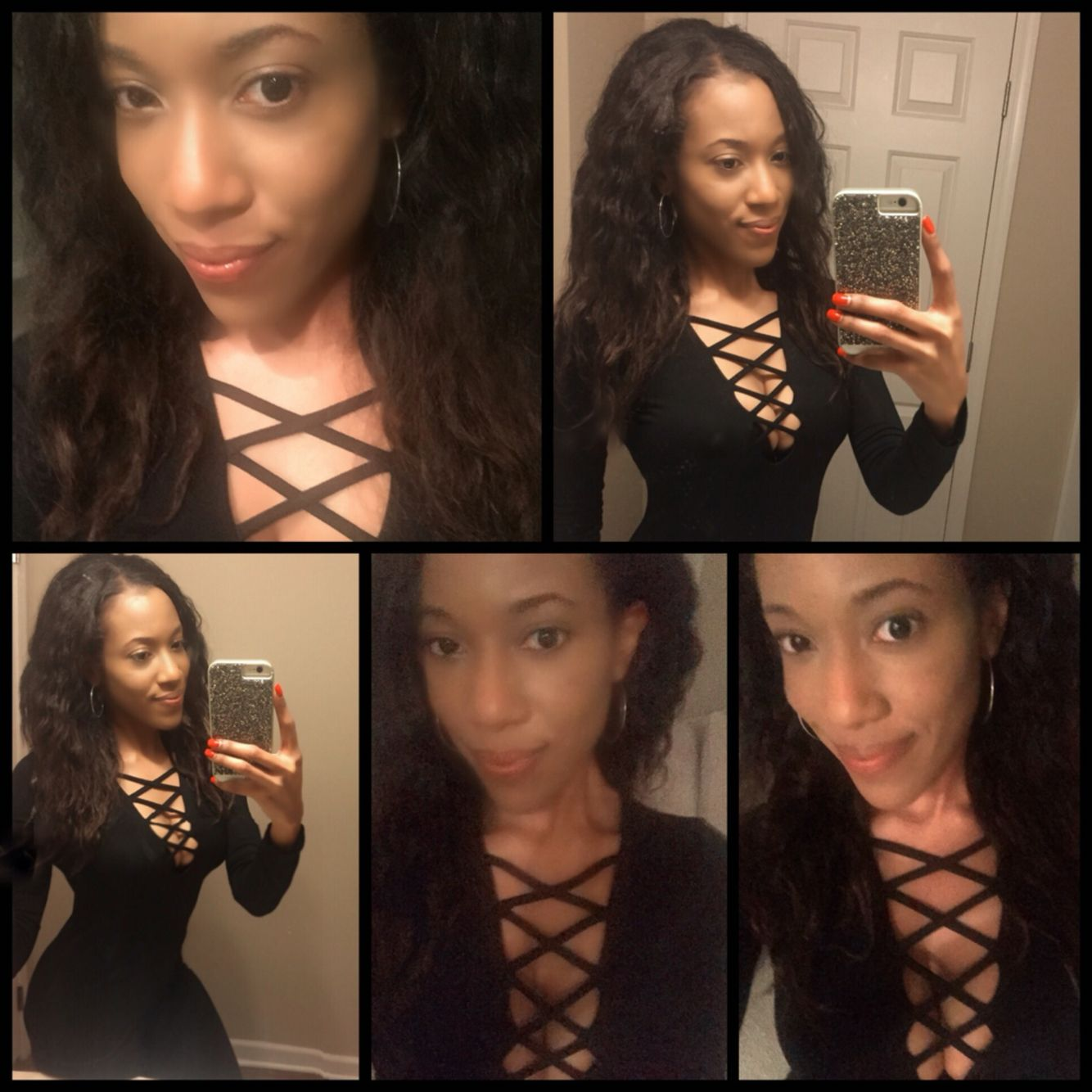 Back jumpsuit with caged chest. Love one pieces! @theebrookieD