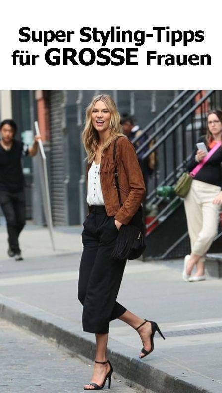 Super Styling Tipps für große Frauen | Große frauen, Mode