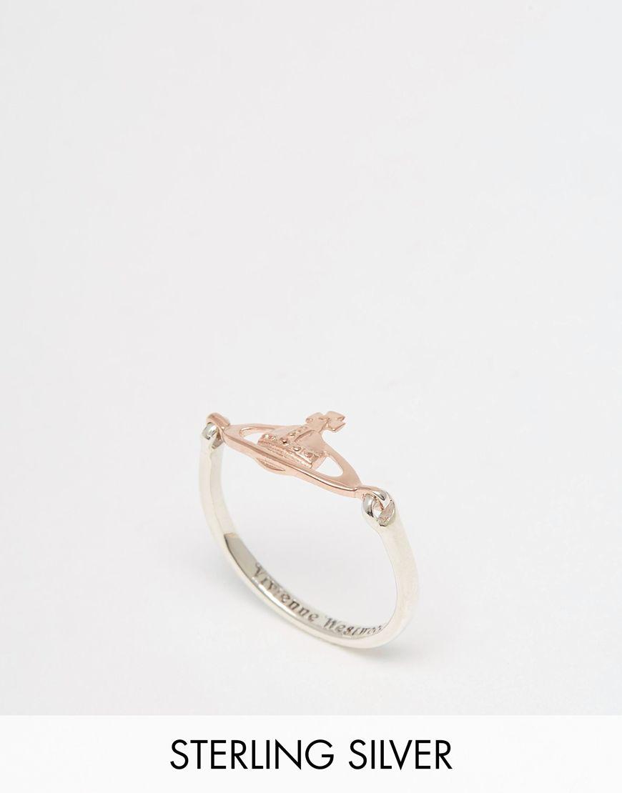 Vivienne Westwood Orb Vendome Ring at asos.com